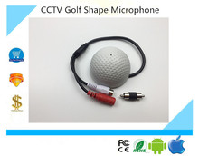 Luckertech Secure Golf Shape audio listening devices CCTV Microphone audio Pickup Device High Sensitivity 12V DC sound Monitor(China)