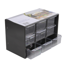 Storage Box Organizer For Toys Rings Jewelry Display Organizer Makeup Case Craft Holder Container porta joias Drop Shipping(China)