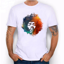 2017 Man Cool Color Explosion Head Printed White T-shirt Hillbilly Summer New Fashion Street Wear Hot Sale Punk Style Modal Tops(China)