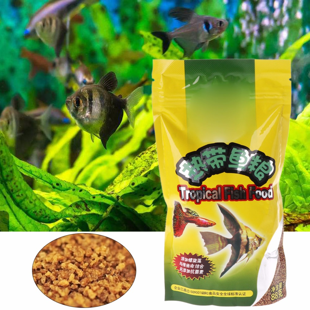 Aquarium Tank Tropical Fish Food Small Fish Feed Grain