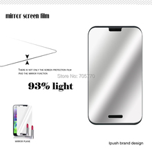 10 Mirror  Screen protector film Guard for LG L40 D160 Dual D170 /Optimus Zone 2 CDMA