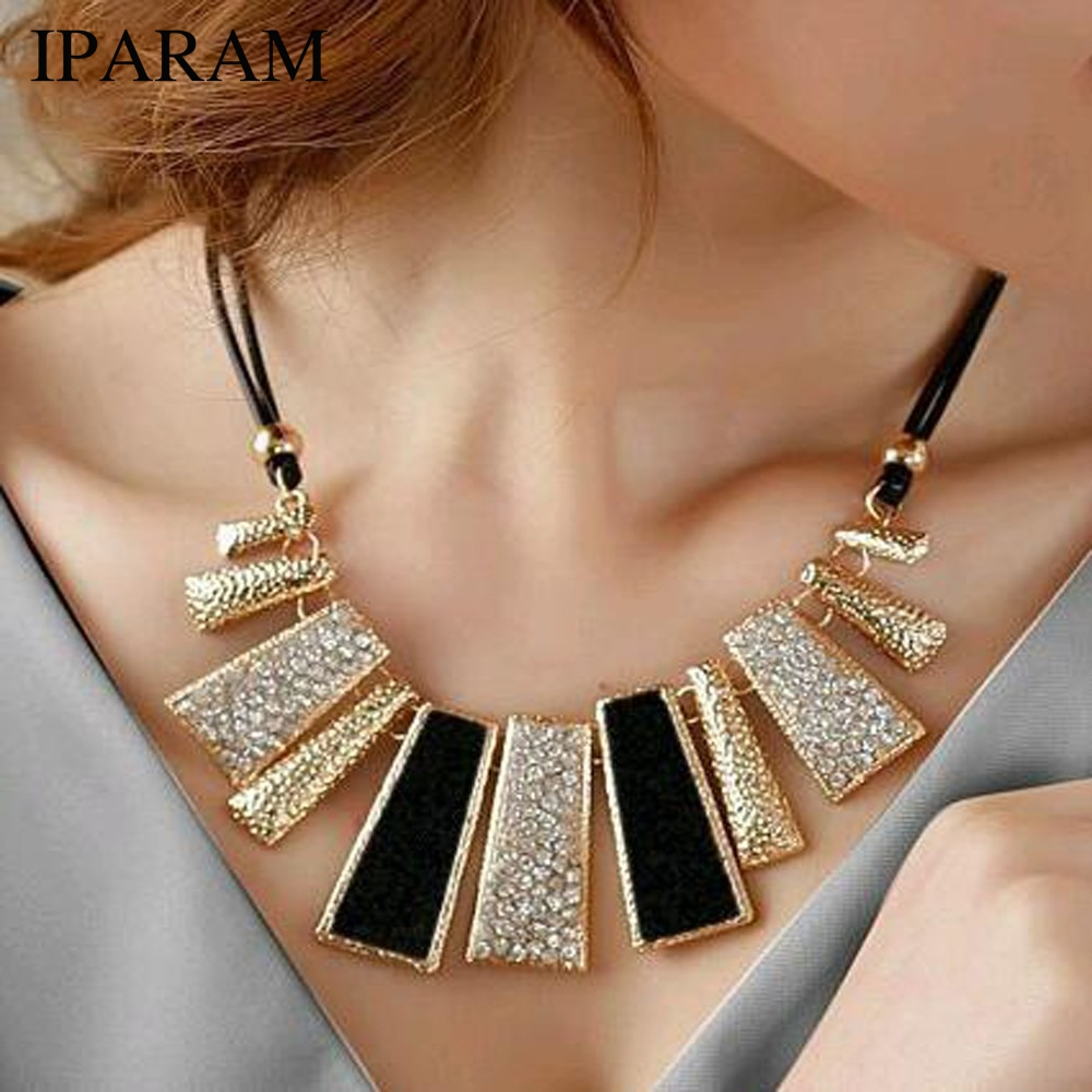 Necklaces & Pendants Collier Femme Fashion Statement Necklace for Women 2018 Boho Colar Vintage Fine Jewelry Collar Mujer Bijoux(China)