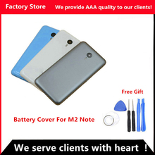 QYQYJOY 5.5 inch Battery Back Cover For Meizu M2 Note Battery Cover Door case housing replacement, Camera Lens+ Buttons
