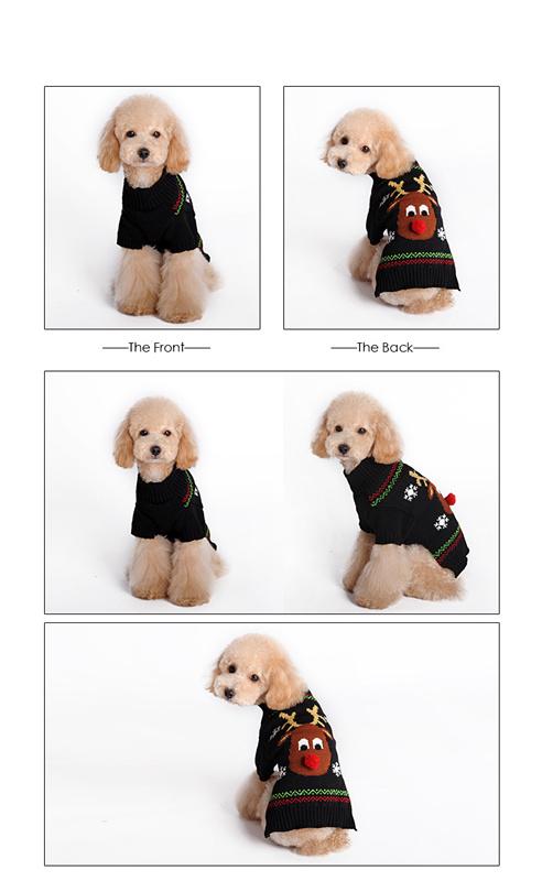 Compre Perro Mascota De Punto Suéter Ropa Perro Pequeño Chaqueta De ...