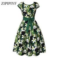 Zipipiyf-2017-Vintage-Dress-Women-Short-Sleeve-Green-Retro-Tutu-Dresses-Hepburn-50s-60s-Rockabilly-Robe.jpg_200x200