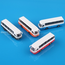4PCS 1:150 N Scale Model Cars Bus for Building Layout New
