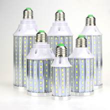 E27 1X Super Bright corn led bulb No flicker/strobe High Power 12W 20W 25W 35W 40W 50W AC85-265V for Home decorating(China)
