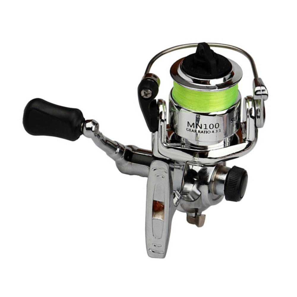 Fishing-Reel Aluminum-Alloy Small Spinning High-Strength Portable-Size title=
