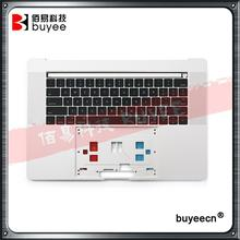 "Original New Silver Palm Rest For MacBook Pro Retina 15"" A1707 Top Housing with US Keyboard 2016 Year Cover Case Replacement"
