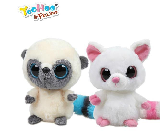 The official Korean Yoohoo plush toy doll rare animal lovers infant monkeys(one pair) Limited Edition,Big Eye sweet Toy,Gift<br><br>Aliexpress