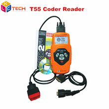 New QUICKLYNKS T55 Multilingual OBDII Scanner T55 Code Reader V--A///G Scanner Handy Auto Diagnostic Tool