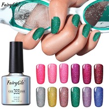 Buy FairyGlo 10ML Bling Nail Polish Neon Soak Stamping Paint Nail Polish Nail Art Paint Gellak Nagellak Lucky Lacquer Gelpolish for $1.53 in AliExpress store