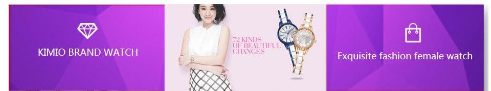 KIMIO Women Bracelet Watch Ladies Tassel Dress Quartz Watch Clock Hollow Love Hearts Steel Strap Wrist Watch Montre Femme