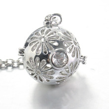 2 style Pregnancy Ball Jewelry Gift Chime Ball Bola Belly Sounds Pendant Harmony Bola Ball Pendants Necklace Gift