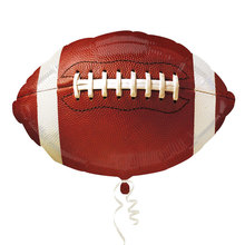 5pcs/lot Championship Football Anagram Foil Balloons Party Supplies For Fans 18 inch Helium Inflate Balloon Kid's Toy.