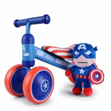 Baby Balance Walker Mini Cute Glide Bicycle Four wheels without Foot Pedal Scooters Toddler Bike Stroller Kid Toys Birthday gift(China)