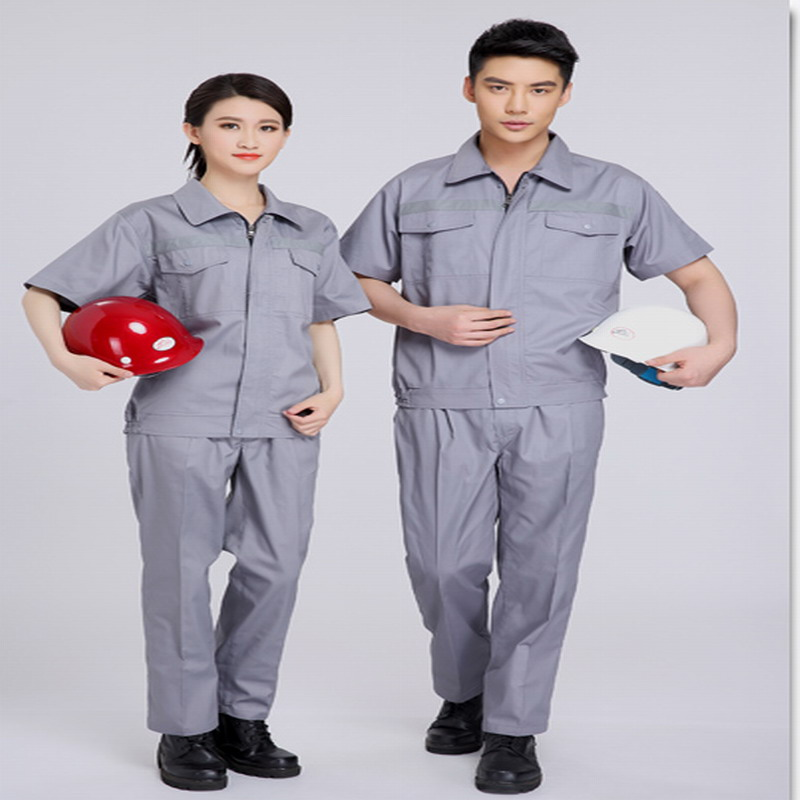 Summer work wear work wear short-sleeve reflective of work wear<br>