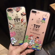 Yoneshone Toy Story Case for iphone 7 7Plus 6s 6 Plus Japan Cartoon Phone Case Silicone Cover Coque capa Fundas(China)