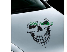 SKULL Car sticker funny stickers pvc emblem deals for auto car styling car-styling 59X55CM Car accessories motorcycle(China)