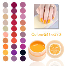 #561-590 Soak off CANNI 141 colors painting gel 5 ml  uv led color nail gel lacquer free shipping long lasting color gel