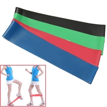 4 Levels Crossfit Elastic Exercise Loop Resistance Band Belt Gym Fitness Training Yoga Equipment Body Ankle Pull Up Rope