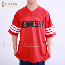 TIM VAN STEENBERGE Prodigy 95 Hennessy Queens Bridge Football Jersey Stitched Sewn-Red(China)