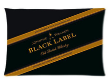 Johnnie Walker Black Label Custom Rectangle Zippered Pillowcase 35x60cm (Twin sides) Christmas Gift U7-73(China)
