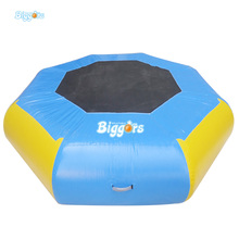 Swim Float Platform Inflatable Bouncer Water Trampoline For Water Park(China)