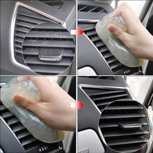 Random Color Car Cleaning Magic Super Clean Glue Gel Outlet Dashboard Storage For Audi BMW VW Golf Toyota Mercedes Benz Ford