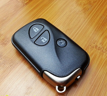 3 Buttons Smart Card Remote Key Shell Case For Lexus IS200 ES350 ES240 LS460 Fob Key Cover 5PCS/lot