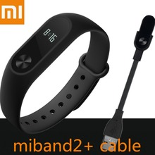 In Stock! 100% Original Xiaomi Mi Band 2 Smart Heart Rate Fitness Xiaomi Miband 2 Wristband Miband2 with OLED Display