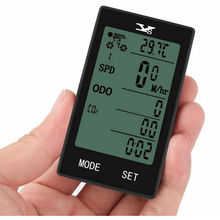 Bicycle Multifunction Waterproof Auto Bike Computer light mode Wireless Bicycle Computer Cycling Speedometer Odometer Wireless