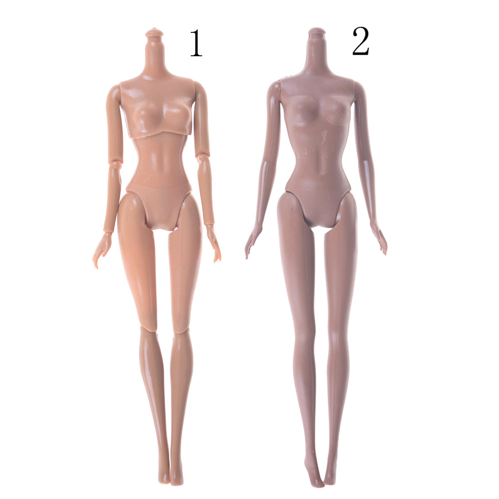 New Joint Moving African Naked Body Dolls Accessories Black Girls for Kids Gifts Pretend Play DIY Toy 1pcs