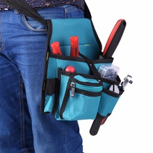 Electrician Tool Bag Screwdriver Utility Kit Holder Carpenter Tool Bag Waist Pocket Tool Belt Pouch Bag Drill Hammer Storage