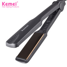 Kemei KM-329 Professional Hair Straightener Iron Flat Iron Straightening Irons Four gear temperature Styling Tools Free Shipping(China)