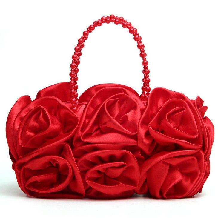 Spend a small amount of Korean makeup moonlight Satin Evening Bag Bridesmaid bride pillow bag messenger bag 989-2 bag<br><br>Aliexpress