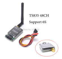 TS835 FPV 5.8G 600MW 48CH 2-6S Wireless AV Transmitter better than TS832