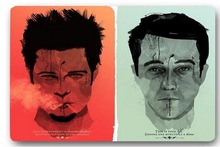 High quality customized Fight Club Art 40x60cm door mat carpet Bath mat kitchen mats home decoration