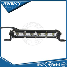 "Factory Direct Sale Extreme Slim Small 7.5"" 18w Led Bumper Bar LED Light Bar for Off Road ATV UTV"