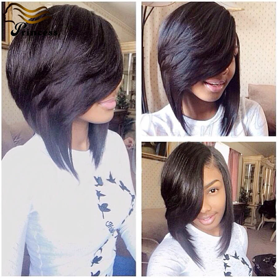 7A Cheap Malaysian Human Hair Bob Wig For Black Woman Straight Glueless Lace Front Human Hair Wigs With Baby Hair Bleached Knots<br><br>Aliexpress