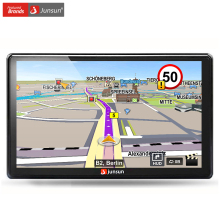 Junsun 7 inch HD Car GPS Navigation FM 8GB 256M DDR Navitel Map Free Upgrade Sat nav Automobile Gps Navigators