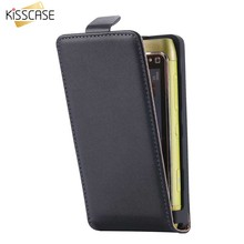 KISSCASE Genuine Leather Case For Nokia N8 Classic Korean Style Vertical Flip Cover For Nokia N8 Full Protect Leather Case Shell(China)