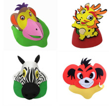 Buy Mask Children Birthday Party Supplies EVA Headdress Cartoon Kid Party Dress Zodiac animal Costume Zoo Jungle Party Decoration for $7.19 in AliExpress store