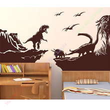New Extra large wall decal stickers Dinosaur World G Foster