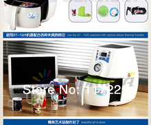 advanced  new design  3D MINI  sublimation vacuum machine heat press machine for mugs cups,printer