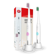 Electric Toothbrush Battery Operated ultrasonic toothbrush 2 Brush Heads Oral Hygiene Health Product No Rechargeable Tooth Brush