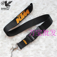 brand motorcycle racing for KTM sport Casual Cap hang neck key mobile phone lanyard Rope buckle for KTM embroidery dirt pit bike