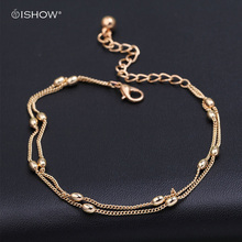 new ankle bracelet foot jewelry pulseras tobilleras heart simple anklets for women girl gift chaine cheville bracelet cheville(China)