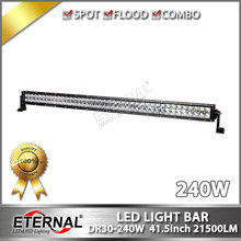 "42"" 240W led light bar off road ATV UTV SUV 4x4 truck dune buggy 4WD racing vehicles high power driving spot flood combo light"