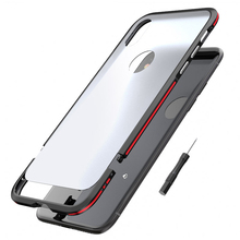 Buy Luphie metal bumper iphone x case luxury aluminum frame+Matte back phone cases cover iphone 7 8 plus dual colors coque for $11.88 in AliExpress store